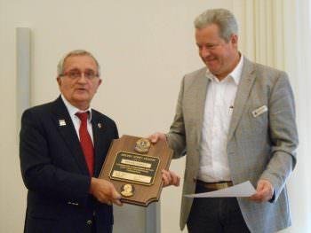 Auszeichnung zum Melvin Jones Fellow