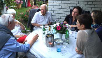 Grillabend beim Pastpräsidenten Andreas Lange