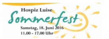 Sommerfest 2016 im Hospiz Luise